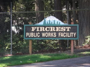 public works sign