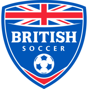 Logo of British Flag with Soccer Ball