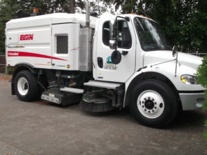 Street sweeper information and schedule